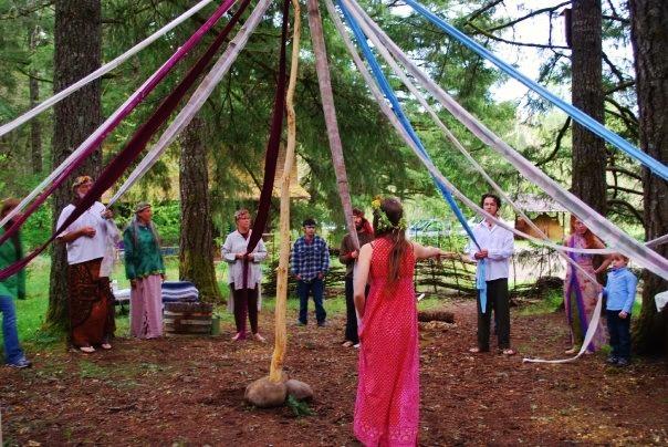 At Lost Valley, Shakti Penelope facilitated seasonal celebrations.