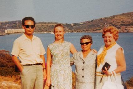 Shakti Penelope's Parents and Grandmothers